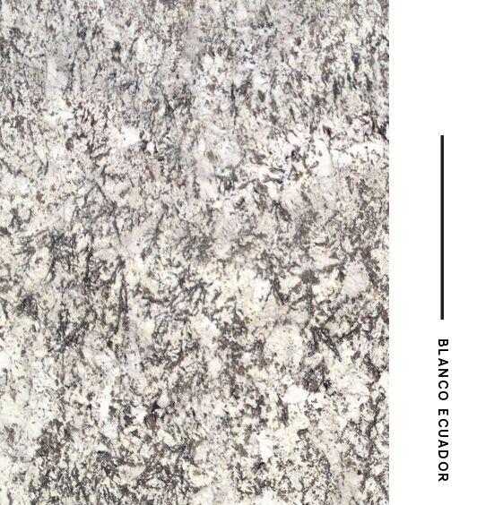 Granito blanco cristal precio cocina blanca con office y for Granito blanco cristal precio