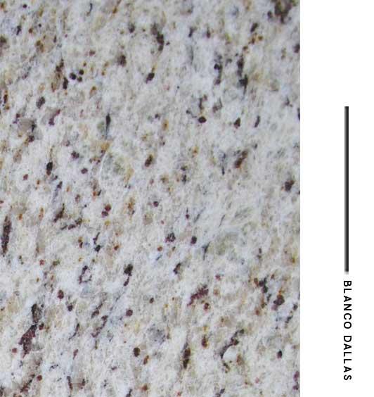 Dallas distribuidora de marmoles for Granito blanco delicatus