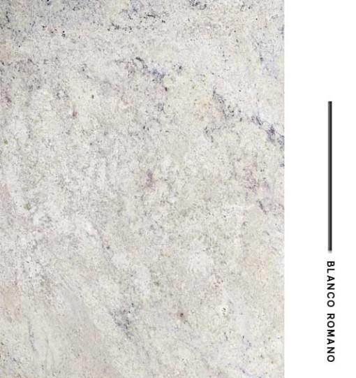 Blanco romano distribuidora de marmoles for Granito blanco delicatus