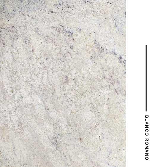 Blanco romano distribuidora de marmoles for Granito blanco romano