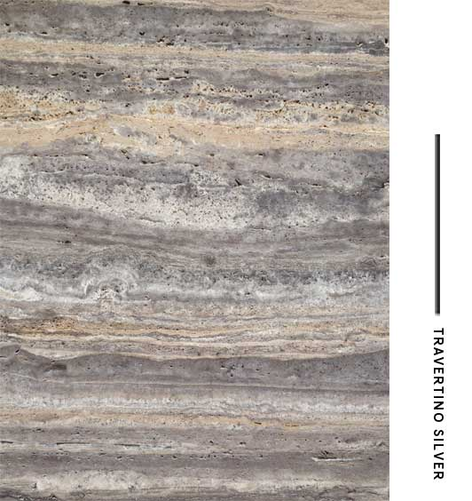 Travertino silver distribuidora de marmoles for El significado de marmol